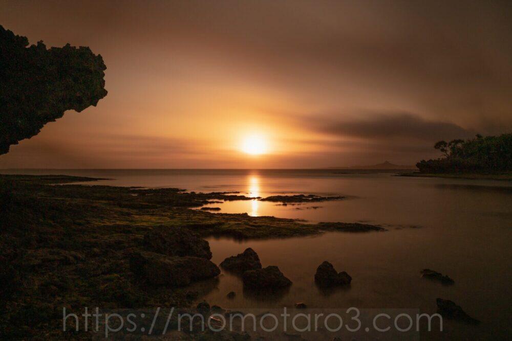 沖縄・備瀬の海岸