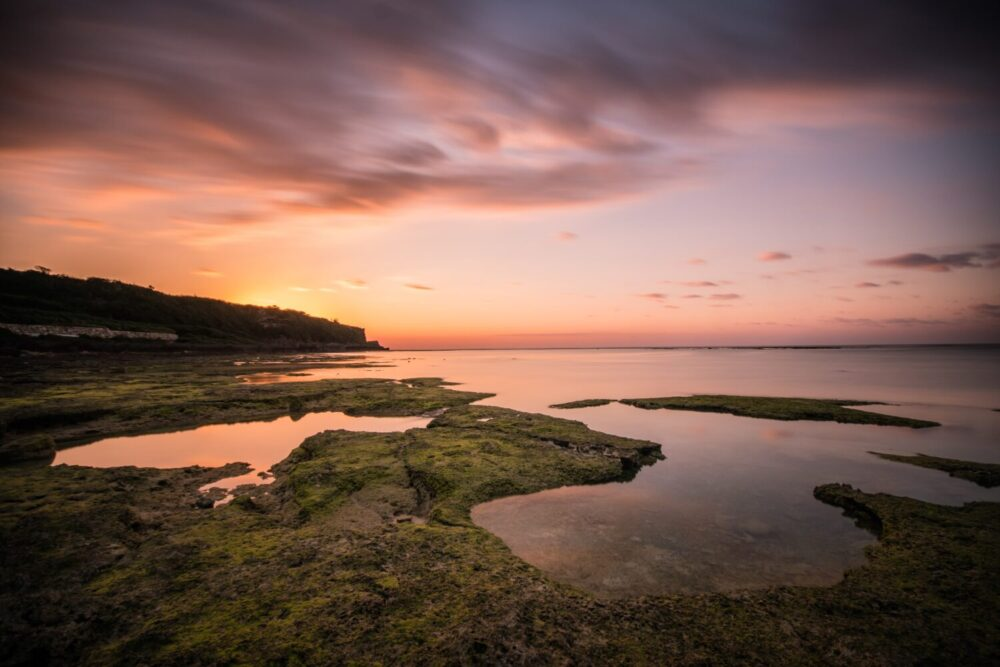 沖縄糸満の海岸